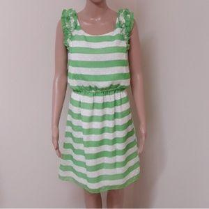 Lilly Pulitzer green striped dress